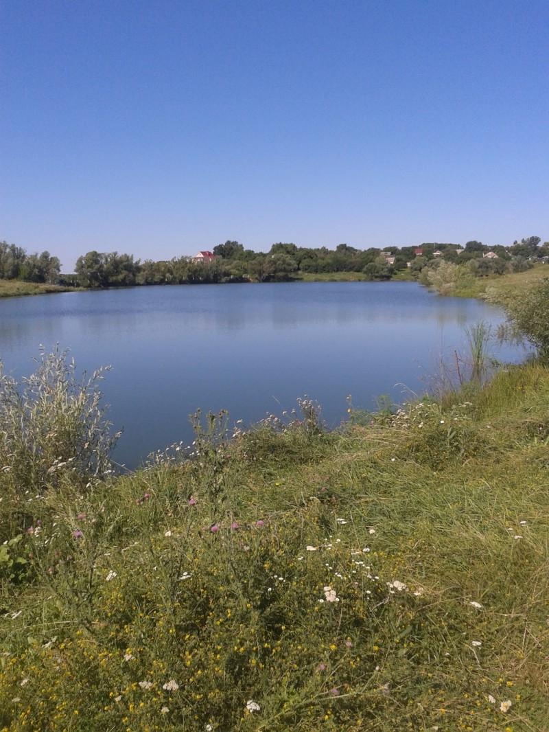 Места для рыбалки в Полтавской области