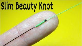 Как связать леску между собой. Соединительный узел Slim Beauty Knot. Лайфхаки и самоделки. Рыбалка
