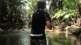 Papuan Black Bass fishing 2014