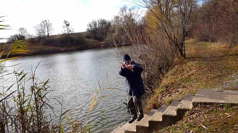 Сегодня побывал на рыбалке Волобо, которое